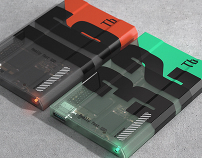 Really Fast SCI-FI SSD Concept