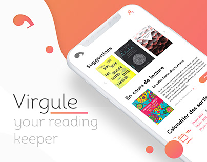 VIRGULE - READING KEEPER APP