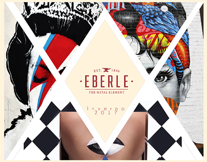 Conceptual art for product catalog - Eberle Fashion