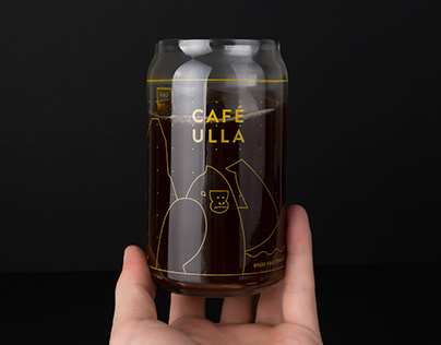 CAFÉ ULLA Branding, Packaging and Character Design