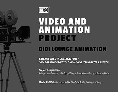 DIDI LOUNGE ANIMATION - SOCIAL MEDIA
