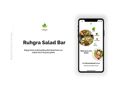 Ruhgra Salad Bar - Digital Product Design