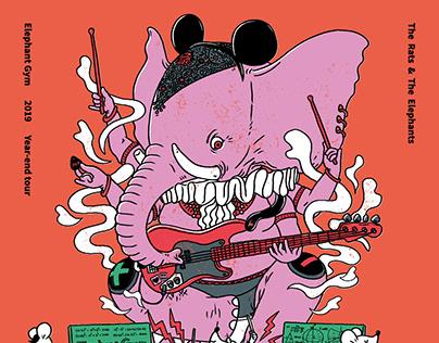 大象體操 鼠學搖滾Elephant Gym Mouse-Math-Rock