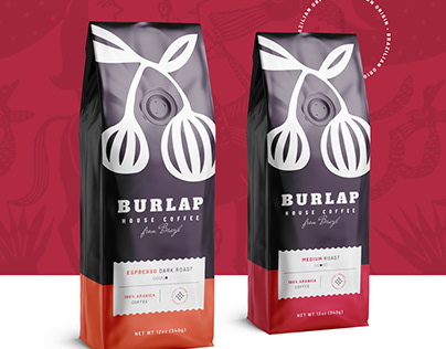 Burlap House Coffee / Brand Identity and Packaging