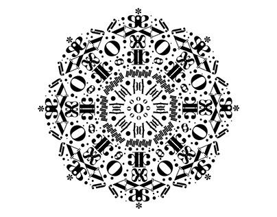 Monogram Mandalas