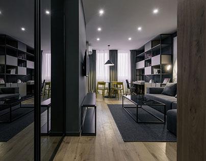 Student's apartment in Kiev