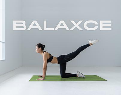 Brand Identity + Logo Design - Balaxce Fitness