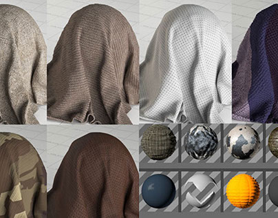 free fabric materials for cinema 4d