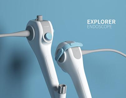 EXOPLORER medical endoscope