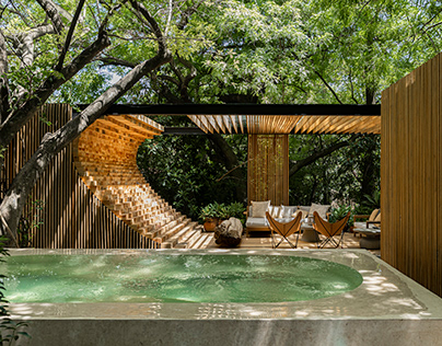 Casa Mague in Mexico by Mauricio Ceballos X Architects