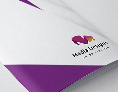 Media Designs Logotype and Visual Identity