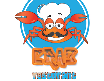 #Resturant Logo (#CRAB) New Logo Designe