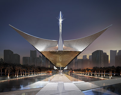 Iconic Mosque, Sterling Presser Architects + Engineers
