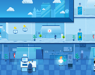 Allianz | pixel art