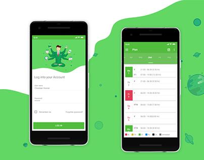 Geocon WebClient Mobile App