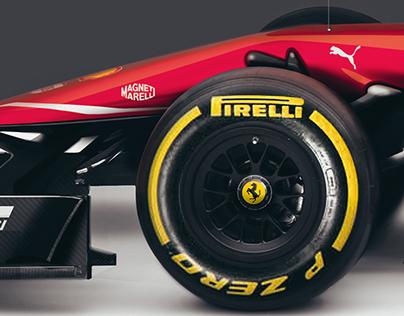 Scuderia Ferrari SF16-T Formula 1 Concept