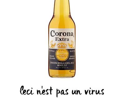 CORONA BEER VIRUS TWIST