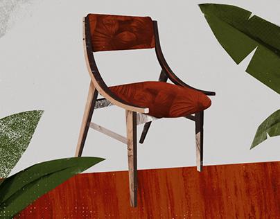 krzesło Skoczek / Jumper chair – poster
