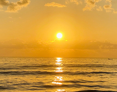Beautiful Sunrise by The Beach