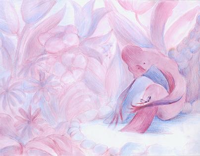 История одной очень одинокой Розы. Lonely Rose Story.
