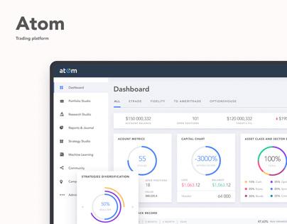 Atom | Trading platform