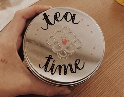 Lettering campaign for Moncloa Tea Boutique 2018
