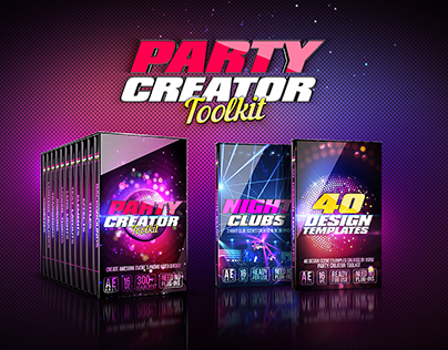 Party Creator Toolkit - After Effects Project File