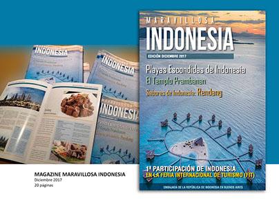 Magazine Maravillosa Indonesia - Ed. Dic 2017