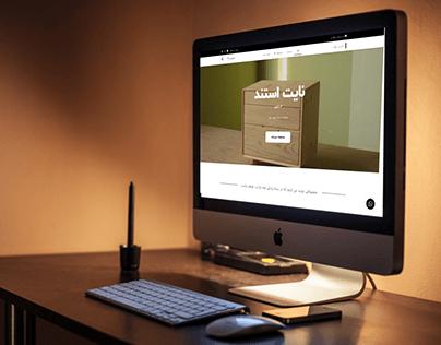 Mozayan Co. web design