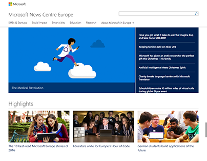 Microsoft Europe News Centre
