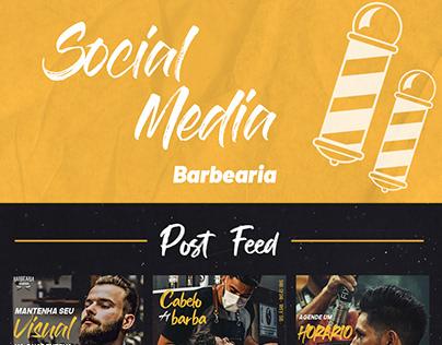 Social Media - Barbearia