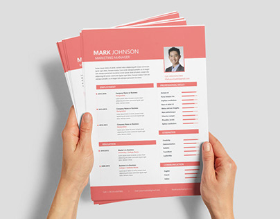 Free Marketing Manager Resume Template