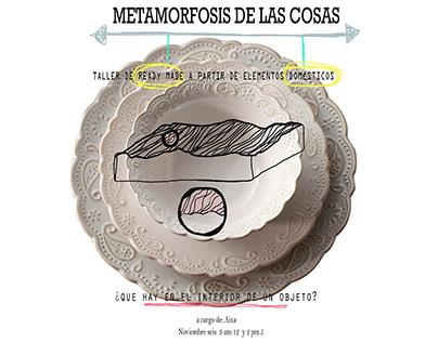 Metamorfosis de las cosas