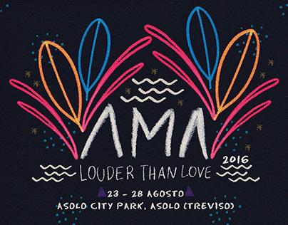 AMA Music Festival - Poster Alternativo