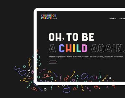 Childhood Corner | Branding