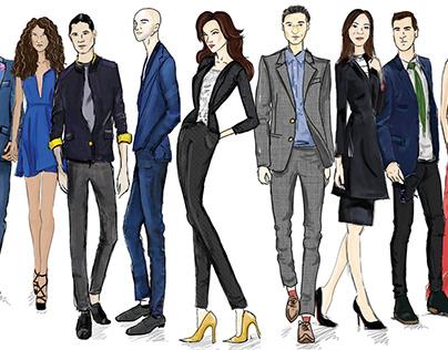 Fashion Sketches