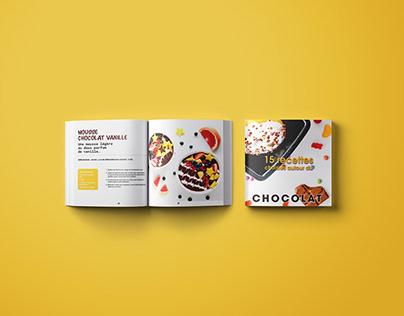 Mise en page d'un livre de recettes