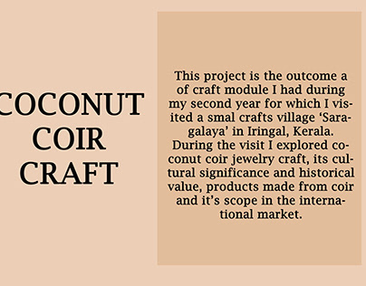 COCONUT COIR CRAFT