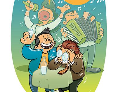 Ilustracije za časopis KOSMO.at III