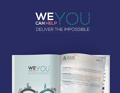 A4 two fold Brochure | Company Profile