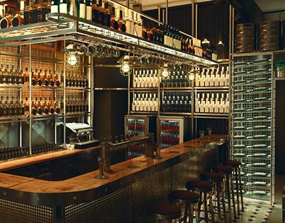 Industrial bar design