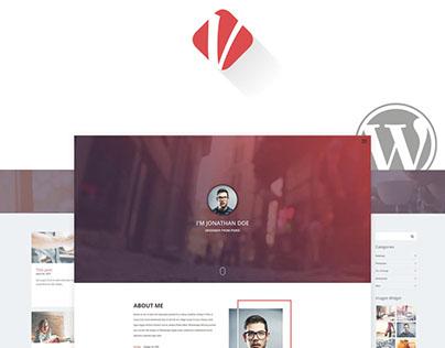 Verka - CV/Resume WordPress Theme