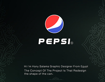 Pepsi ( Redesign The Can )