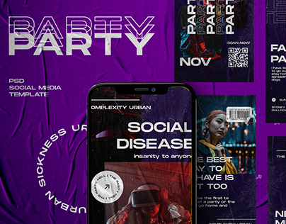 PARTY - Social Media Template