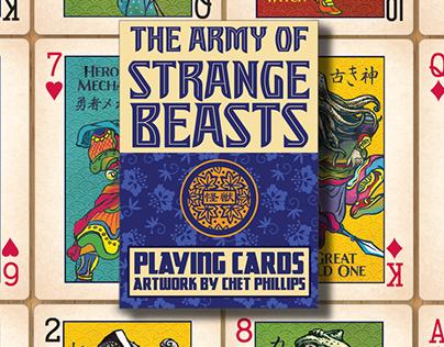 Strange Beasts Playing Cards