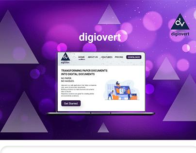 Website Presentation-digiovert