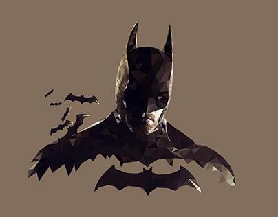 Low Poly Vector (Batman Gif)