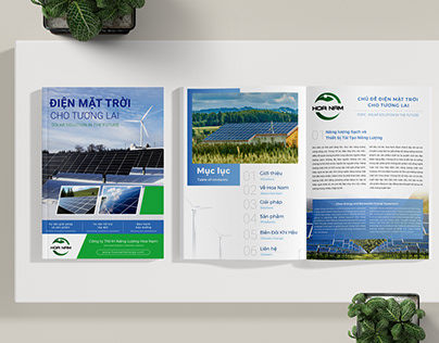 Hoa Nam Solar Catalogue Design
