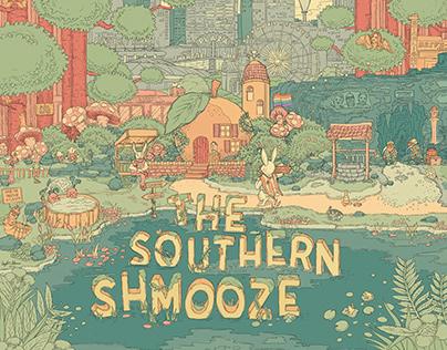 Illustrative Art Logo - The Southern Shmooze