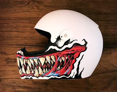 Monster Kustom Helmet - Illustration